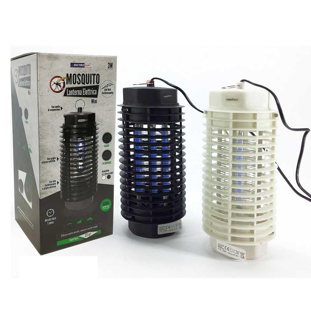 General Trade Lampada Elettrica Mosquito Killer Mini 3W