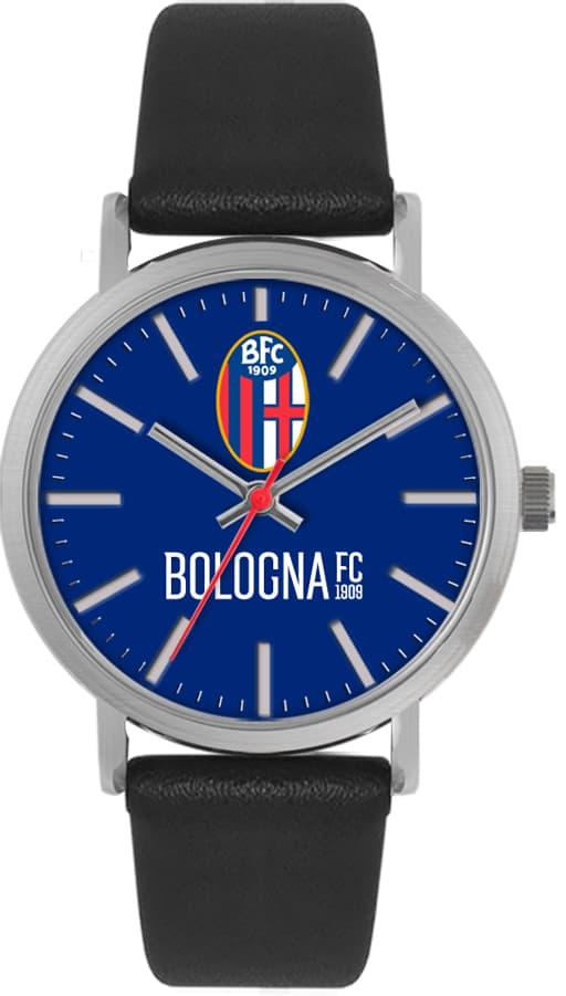 OROLOGIO BOLOGNA TIDY PELLE NERO (Unisex) Bologna Fc
