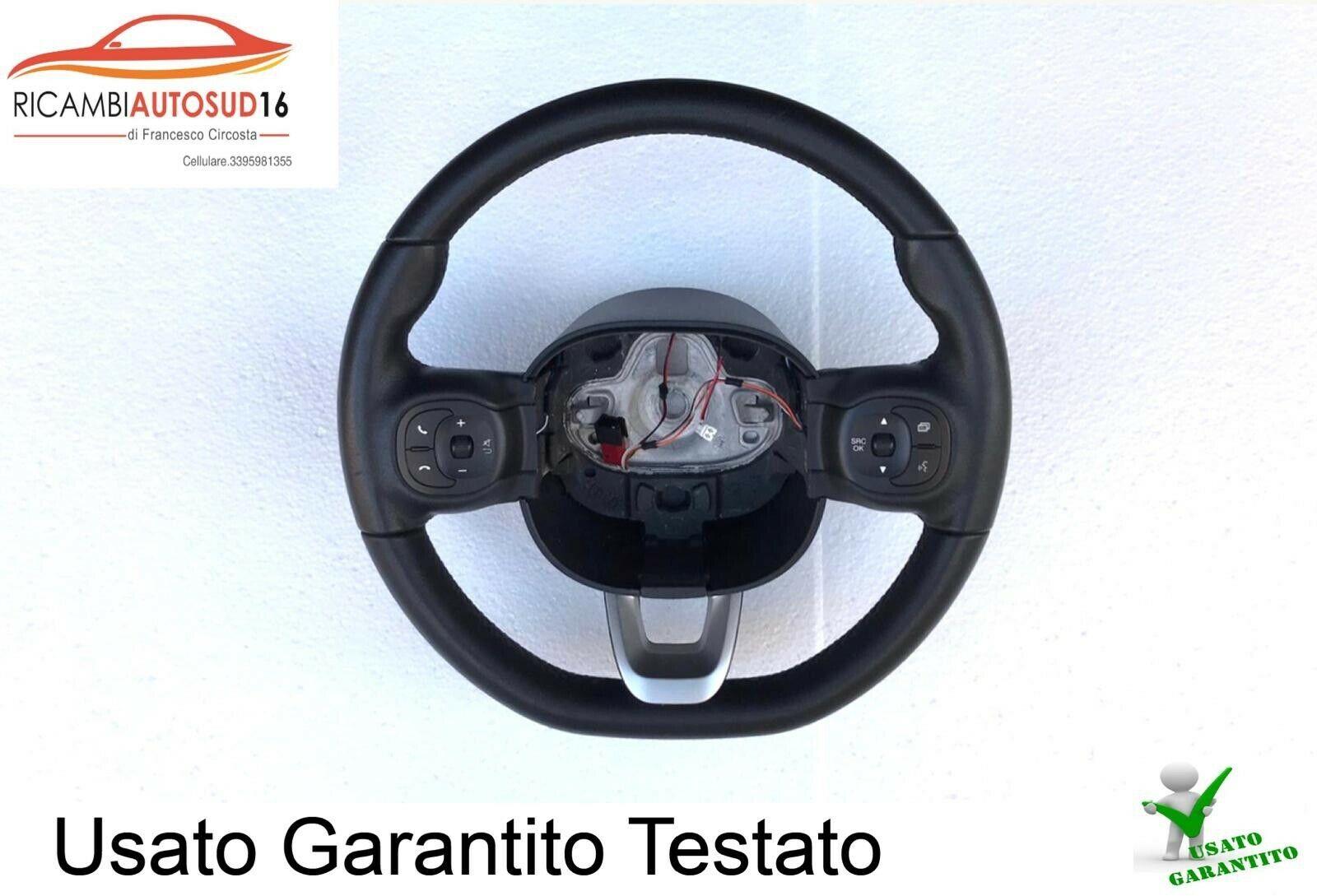 Volante In Vera Pelle Fiat Panda 3 Serie Dal 2013 Al 2020 Originale