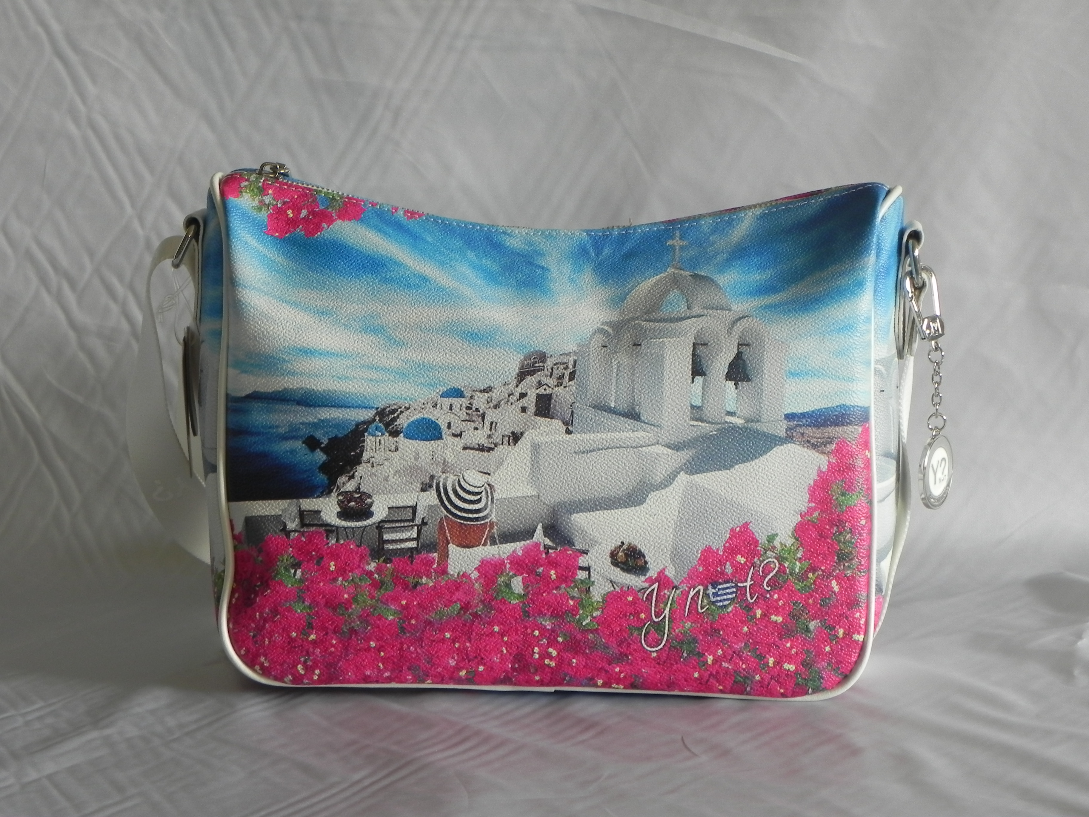 Borsa a tracolla White Party Donna Y NOT 370