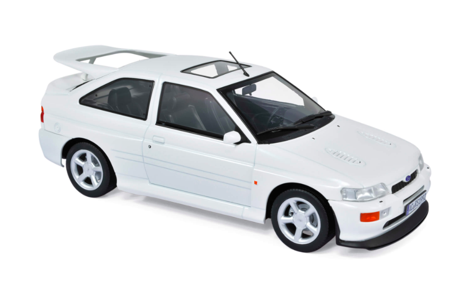 Ford Escort Cosworth 1992 White 1/18