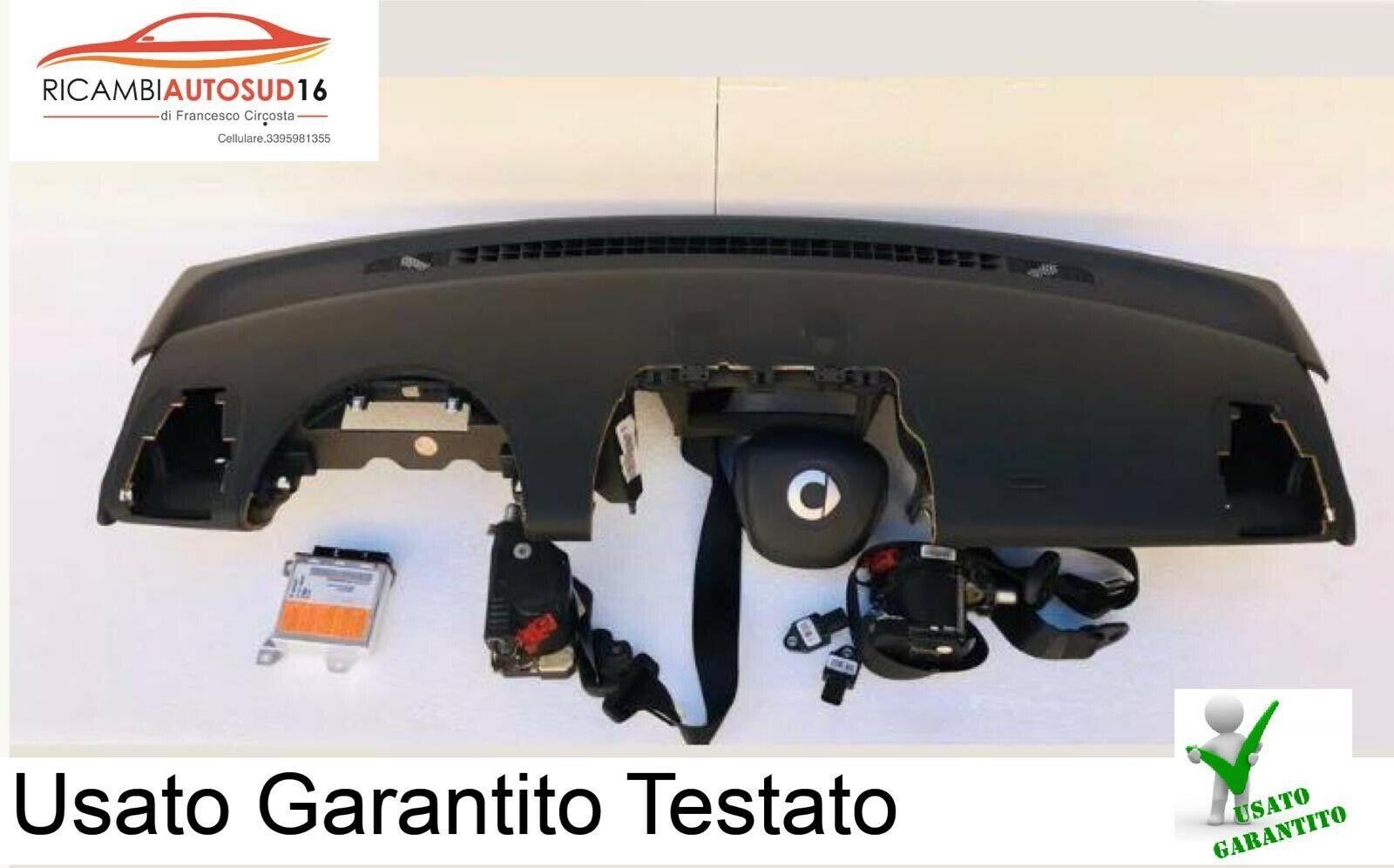 Kit Airbag Completo Smart Serie 451 Anno 2010 Originale
