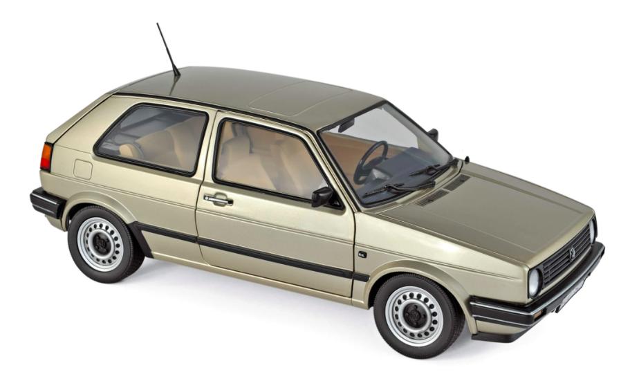 Volkswagen Golf CL 1985 Beige Metallic 1/18