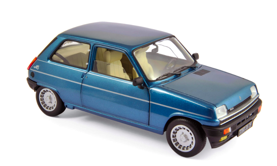 Renault 5 Alpine Turbo 1981 Navy Blue 1/18
