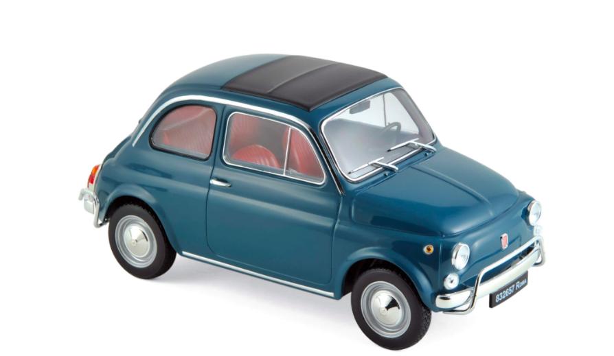 Fiat 500 L 1968 Blue 1/18