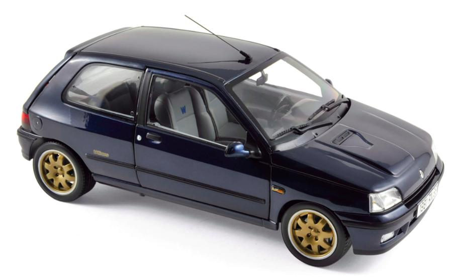 Renault Clio Williams Ph I 1993 Blue 1/18
