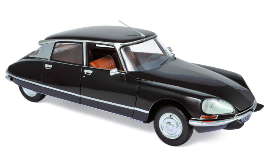 Citroën DS 23 Pallas 1974 Black 1/18