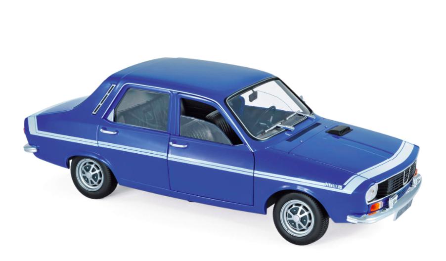 Renault 12 Gordini 1971 Bleu-de-France 1/18