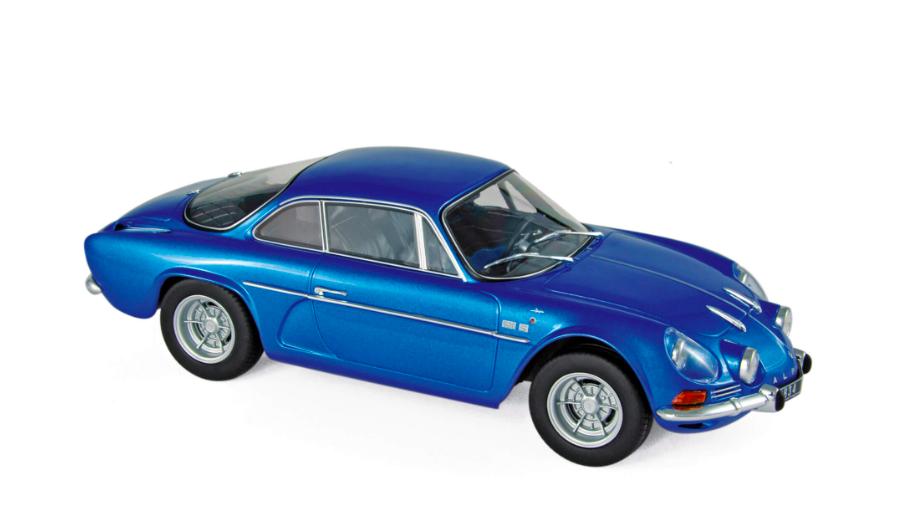 Alpine Renault A110 1600S 1971 Blue 1/18