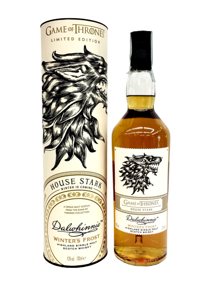 Games of Thrones : Whisky Dalwhinnie Winter's Frost -Serie limitata