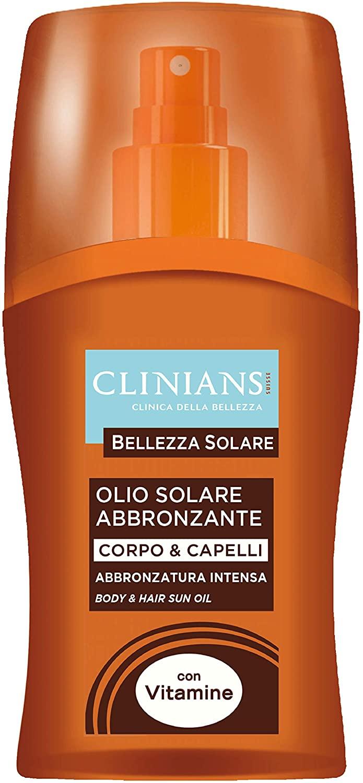 Olio solare abbronzante Clinians 150 ml