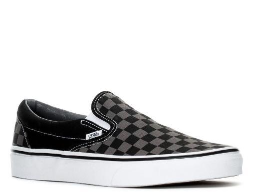 Vans Classic Slip-on Scacchi Black