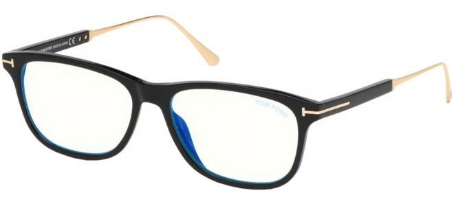 Tom Ford - Occhiale da Vista Uomo, Black  FT 5589-B  BLUE BLOCK  001  C55