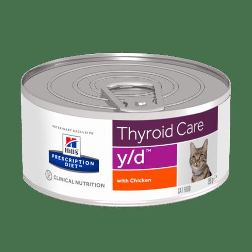 Hill's - Prescription Diet Feline - y/d - 156g x 6 lattine