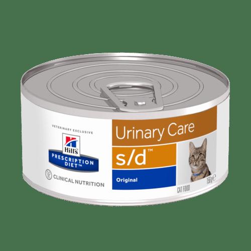 Hill's - Prescription Diet Feline - s/d - 156g x 6 lattine