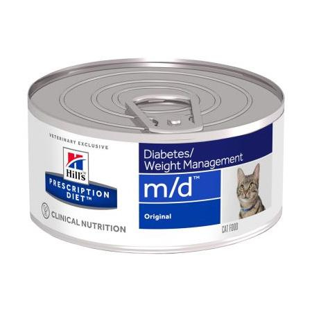 Hill's - Prescription Diet Feline - m/d - 156g x 6 lattine