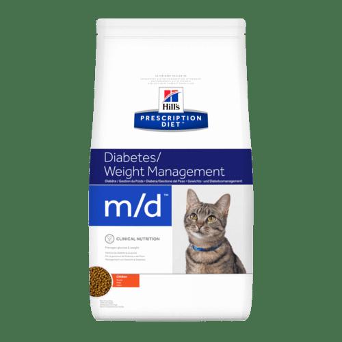 Hill's - Prescription Diet Feline - m/d - 1,5 kg
