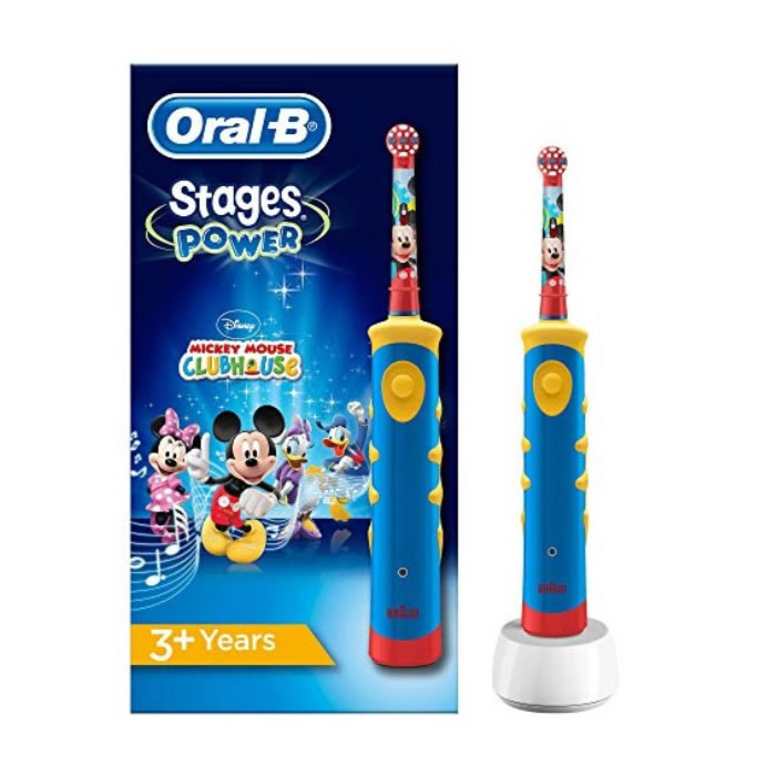 Oral-B Kids Vitality Stages Mickey Electric Toothbrush
