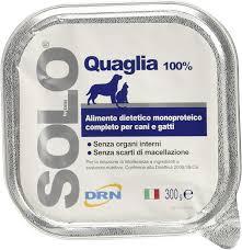DRN Solo Quaglia per cani 300gr