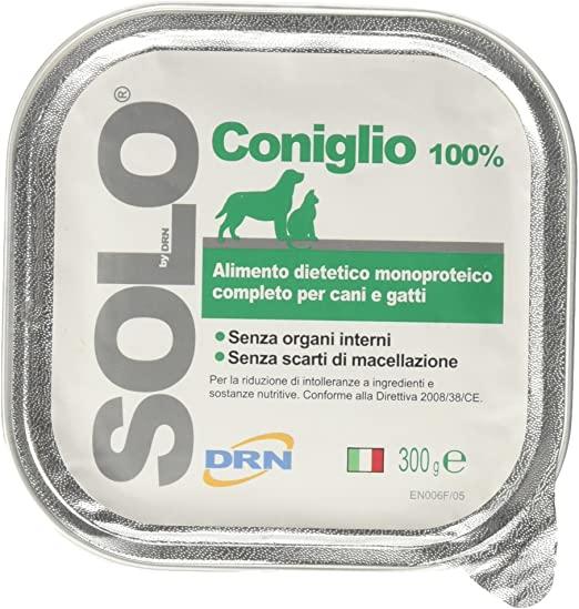 DRN Solo Coniglio per cani 300gr