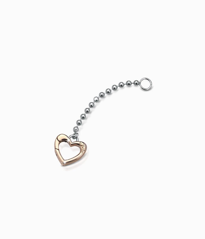 Elemento aggiuntivo versione a Y con moschettone in oro rosa per Collana Lock Your Love