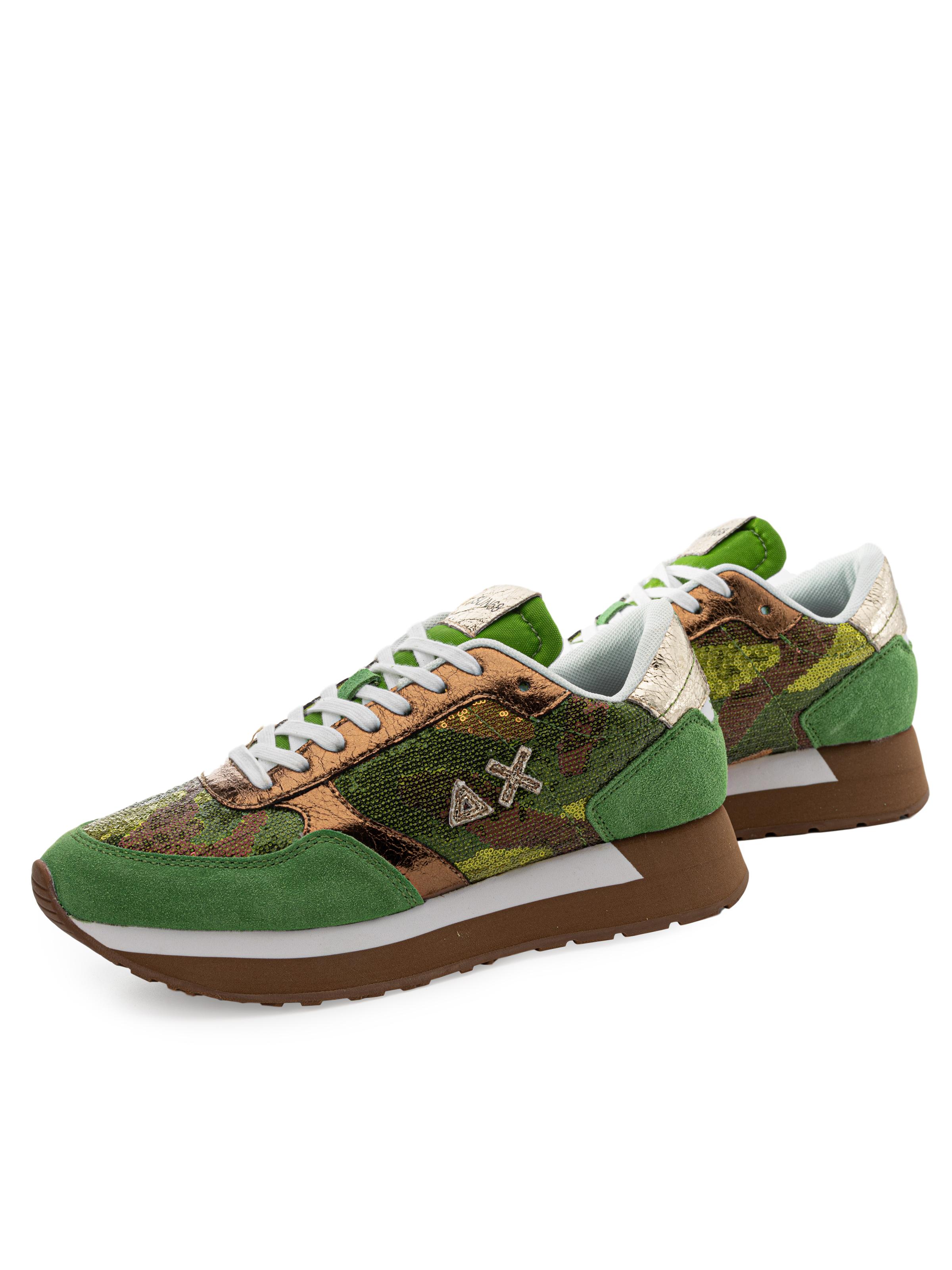 Sneakers Sun 68 Z30215 Verde Chiaro