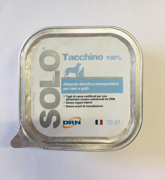 DRN Solo Tacchino per cani 100gr