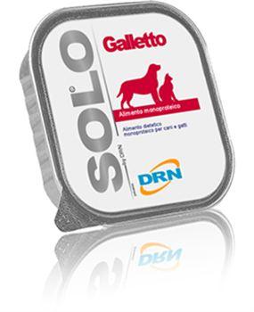 DRN Solo Galletto per cani 100gr