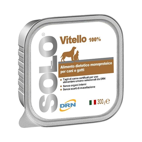 DRN Solo Vitello per cani 300gr