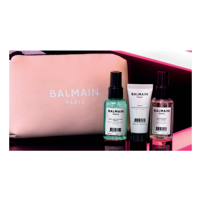 Balmain Cosmetic Bag Summer 2020 Pink