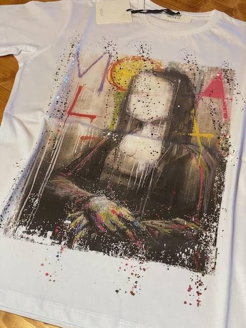 Tshirt Vicolo stampa Monnalisa