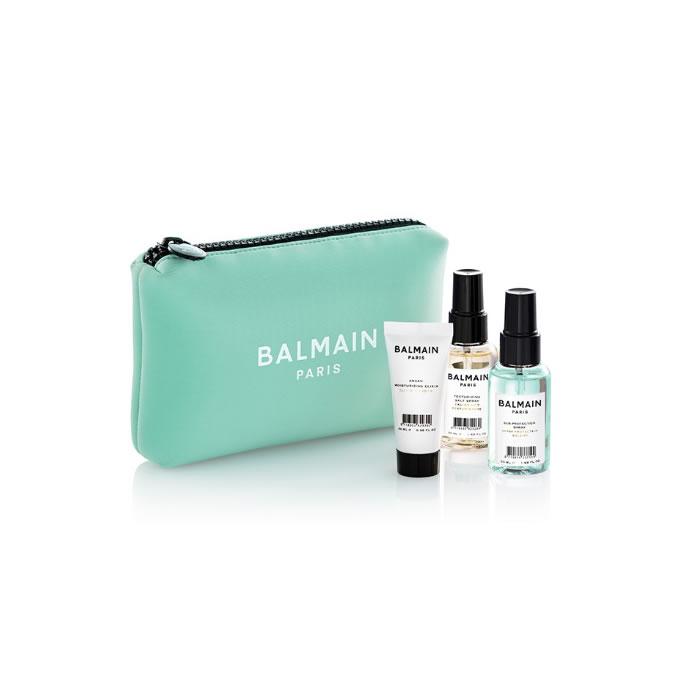 Balmain Cosmetic Bag Summer 2020 Green