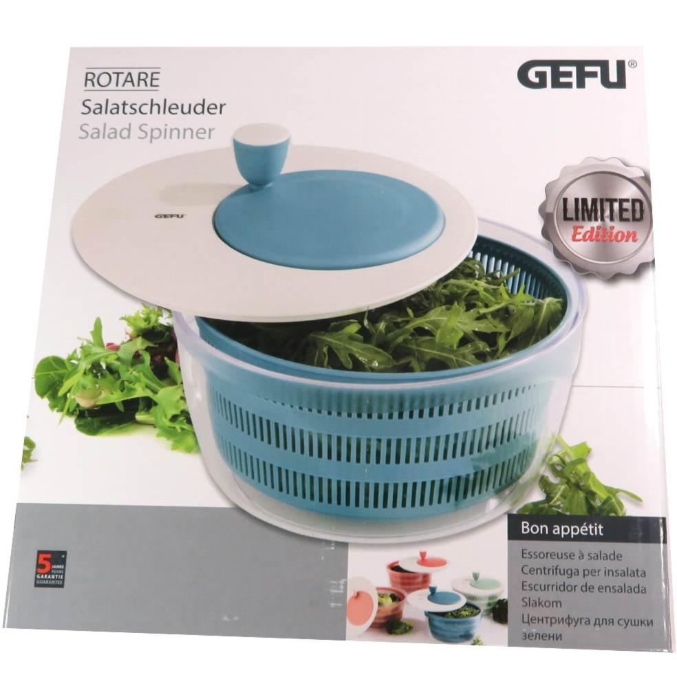 Centrifuga per insalata azzurro blu Gefu