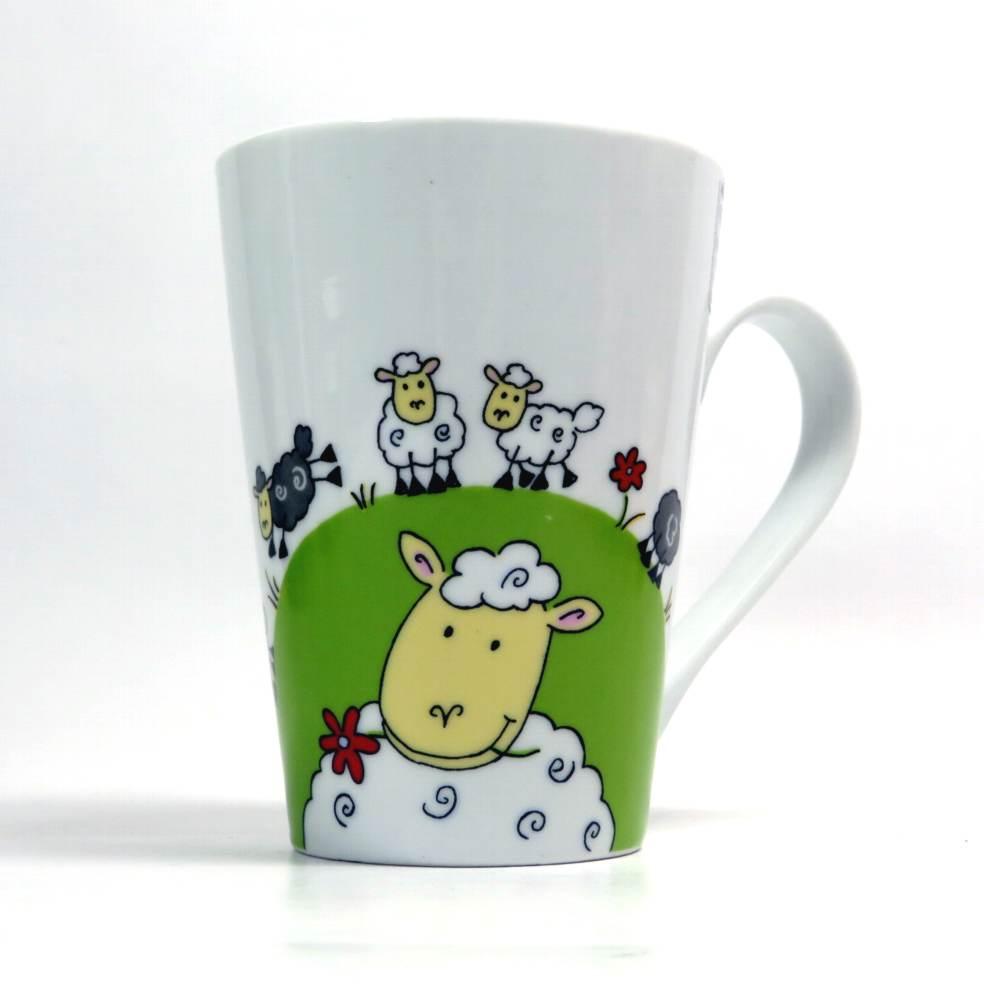 Tazza mug decoro pecore