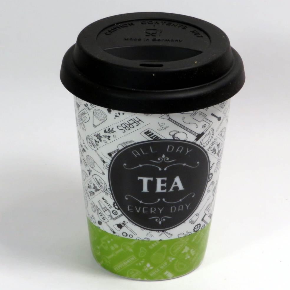 Tazza mug con coperchio silicone