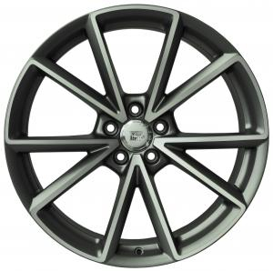 Cerchi in lega WSP Italy  W569        19''  Width 8.0   5x112  ET 49  CB 57,1    Anthracite Polished