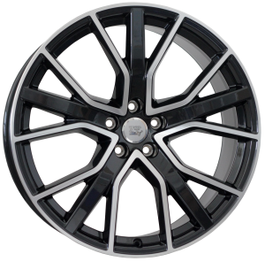 Cerchi in lega WSP Italy  W571        20''  Width 8.5   5x112  ET 43  CB 57,1    Glossy Black Polished