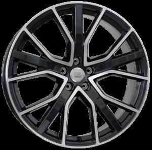 Cerchi in lega WSP Italy  W571        21''  Width 8.5   5x112  ET 30  CB 66,6    Glossy Black Polished
