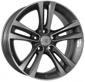 Cerchi in lega WSP Italy  W680        18''  Width 8.0   5x120  ET 34  CB 72,6    Anthracite Polished