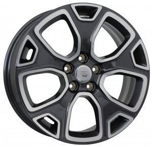 Cerchi in lega WSP Italy  W3804       18''  Width 7.0   5x110  ET 40  CB 65,1    Anthracite N Polished