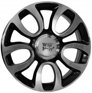Cerchi in lega WSP Italy  W167        17''  Width 7.0   5x98  ET 41  CB 58,1    Glossy Black Polished