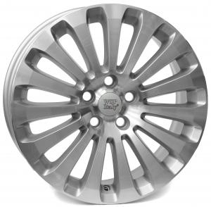 Cerchi in lega WSP Italy  AGER9FO53   17''  Width 7.0   5x108  ET 52.5  CB 63,4    Silver Polished