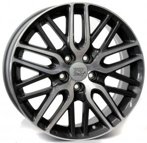 Cerchi in lega WSP Italy  W2408       17''  Width 7.0   5x114.3                         ET 55  CB 64,1    Anthracite Polished