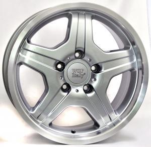 Cerchi in lega WSP Italy  W760        18''  Width 9.5   5x130  ET 50  CB 84,1    Silver Polished Lip