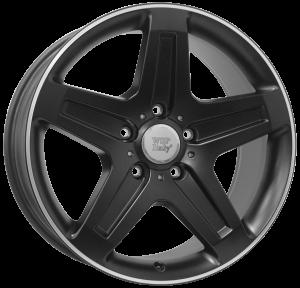 Cerchi in lega WSP Italy  W779        19''  Width 9.5   5x130  ET 50  CB 84,1    Dull Black R Polished