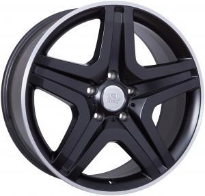 Cerchi in lega WSP Italy  W775        20''  Width 9.5   5x130  ET 50  CB 84,1    Dull Black R Polished