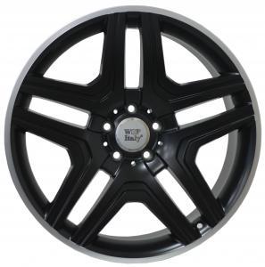 Cerchi in lega WSP Italy  W766        21''  Width 10.0   5x112  ET 56  CB 66,6    Dull Black R Polished