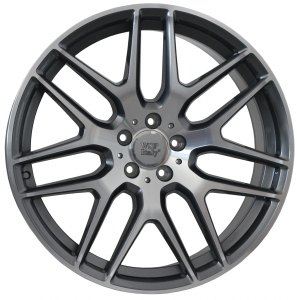 Cerchi in lega WSP Italy  W778        21''  Width 10.0   5x112  ET 46  CB 66,6    Anthracite Polished