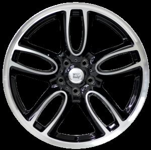 Cerchi in lega WSP Italy  W1654       19''  Width 8.0   5x112  ET 57  CB 66,5    Glossy Black Polished