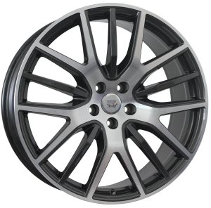 Cerchi in lega WSP Italy  W3101       21''  Width 9.0   5x114.3                         ET 40.5  CB 67,1    Anthracite Polished